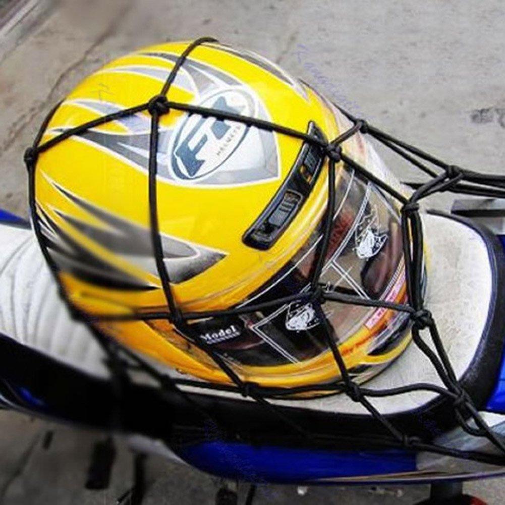 Demiawaking Ragno Moto per Tenere Bagagli Cargo con 6 Ganci Rete Elastica Blu