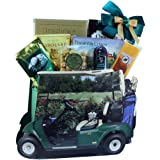 Art of Appreciation Gift Baskets Gone Golfing Golf Cart Gift Bag Tote