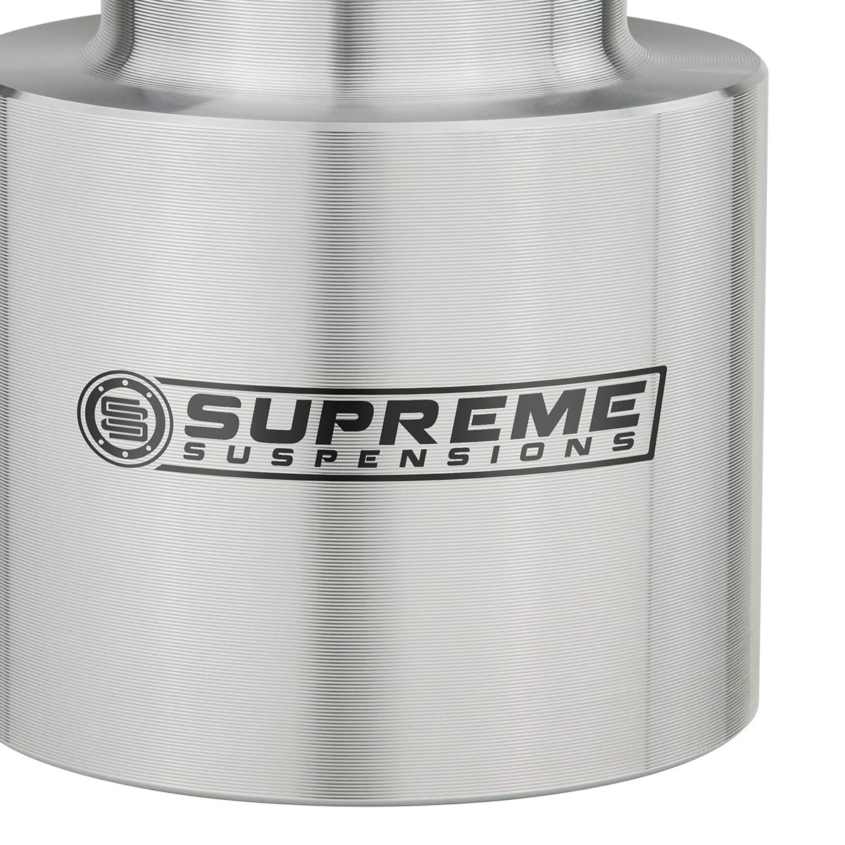 Supreme Suspensions Suburban 1500 2 Rear Lift Aircraft Billet Coil Spring Spacers 2WD 4WD Black Tahoe Rear Leveling Kit for Chevy Avalanche 1500