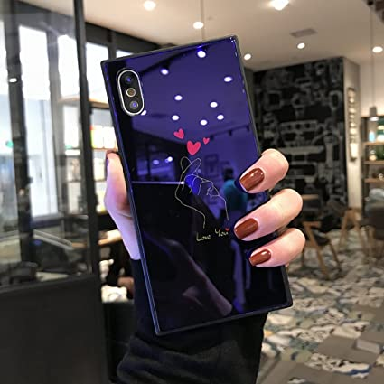 Amazon.com: BabeMall - Carcasa para iPhone 8 (cristal ...