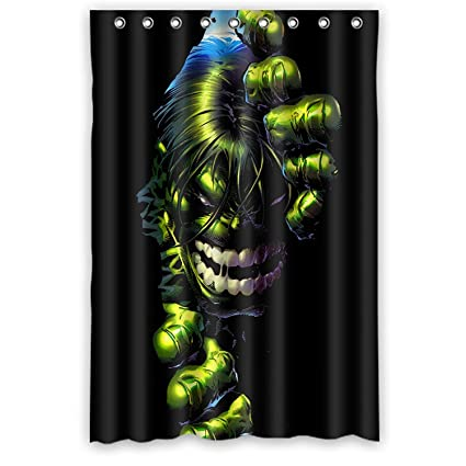 Amazon Aloundi Custom Hulk Waterproof Durable Shower Curtain