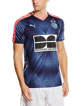 Puma para Hombre Camiseta de fútbol de Hierba Piezas Zürich Derby Camiseta Tienda con Logotipo,