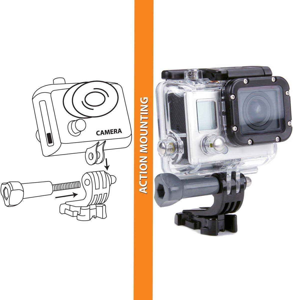 USA Gear Correa para la Cabeza Soporte para cámara de acción GoPro ...