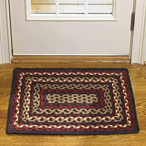 Park Designs Folk Art Braided Rectangle Rug – 20 x 30