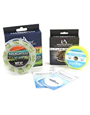 Maxcatch Fly Line Combo Pack: ECO Floating Fly Line, Backing, and Tapered Leader