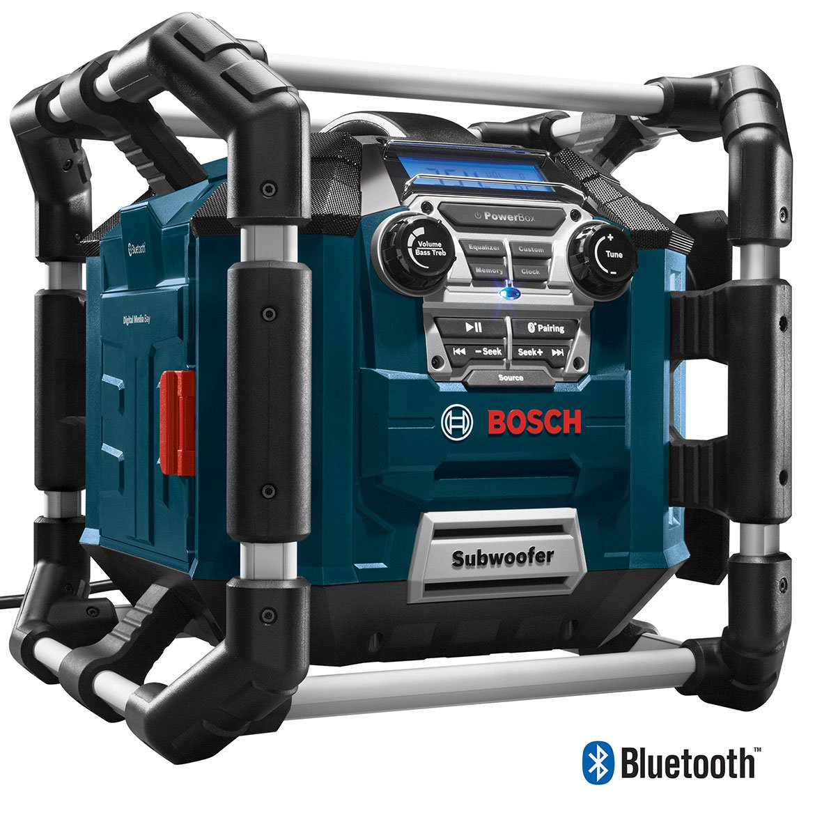 Bosch Bluetooth Power Box Jobsite Am Fm Radio Charger How To Turn Your Truck Into A Generator The Family Handyman Digital Media Stereo Pb360c Home Improvement