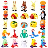 Syruan Assorted Wind up Toys for Kids Party Favors Gifts Kids Birthdays (24pcs)