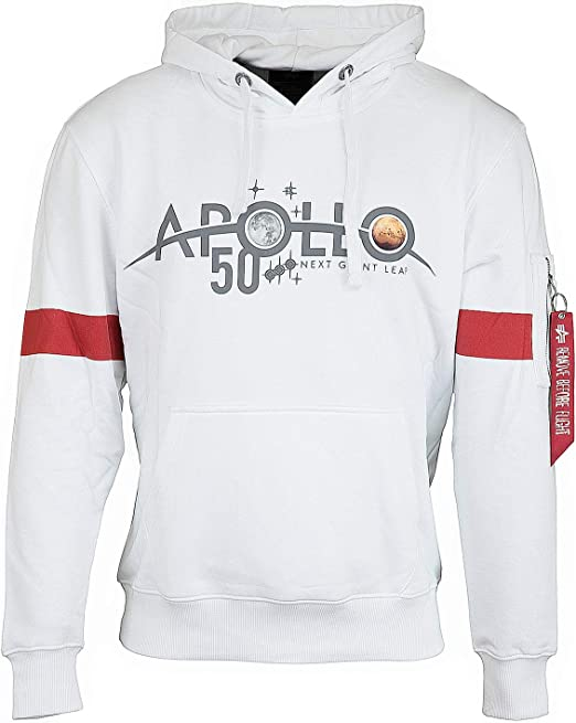 Alpha Industries Apollo 50 Sweat à Capuche réfléchissant
