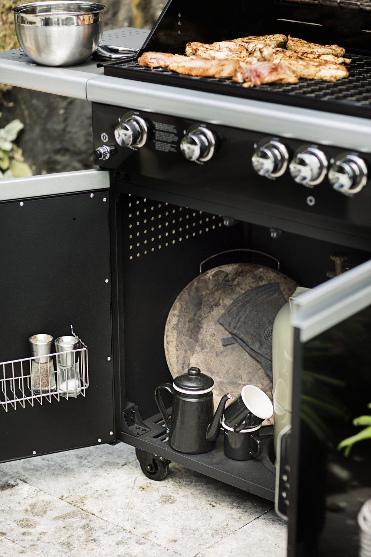 schwarz R/ösle 25112 Barbecue-Muffinform 6er Set