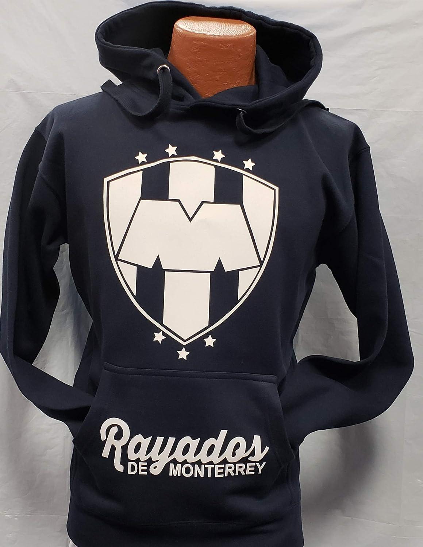 Amazon.com : New Rayados de Monterrey Generic Replica Hoodie Size M : Sports & Outdoors