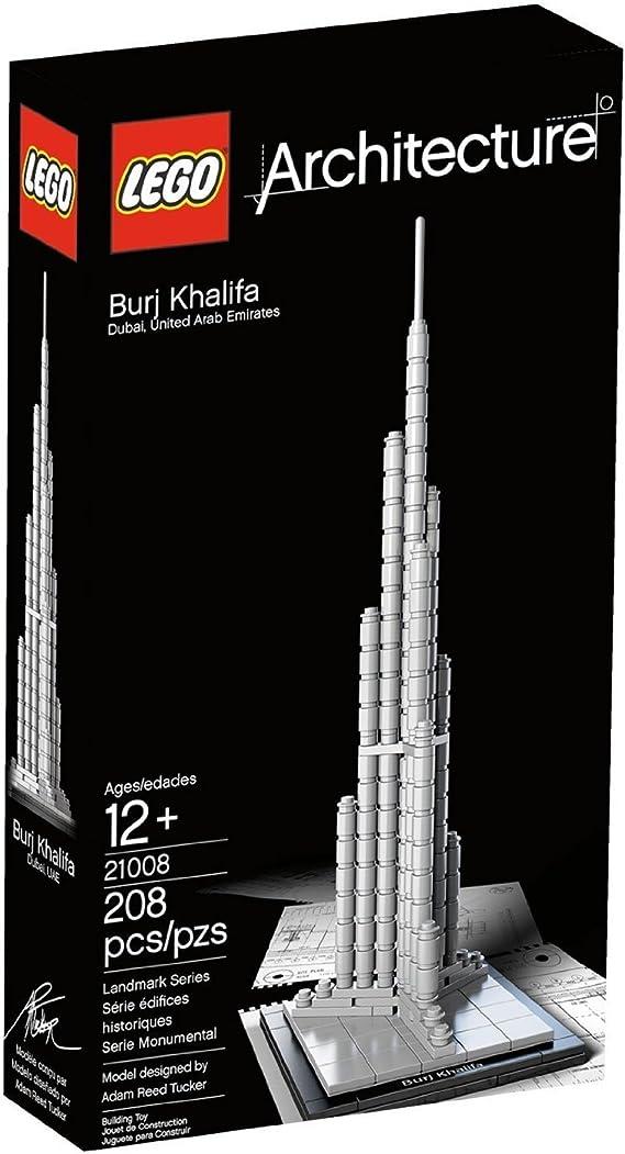 LEGO Architecture Burj Khalifa Dubai 21008 (japan import): Amazon.es: Juguetes y juegos