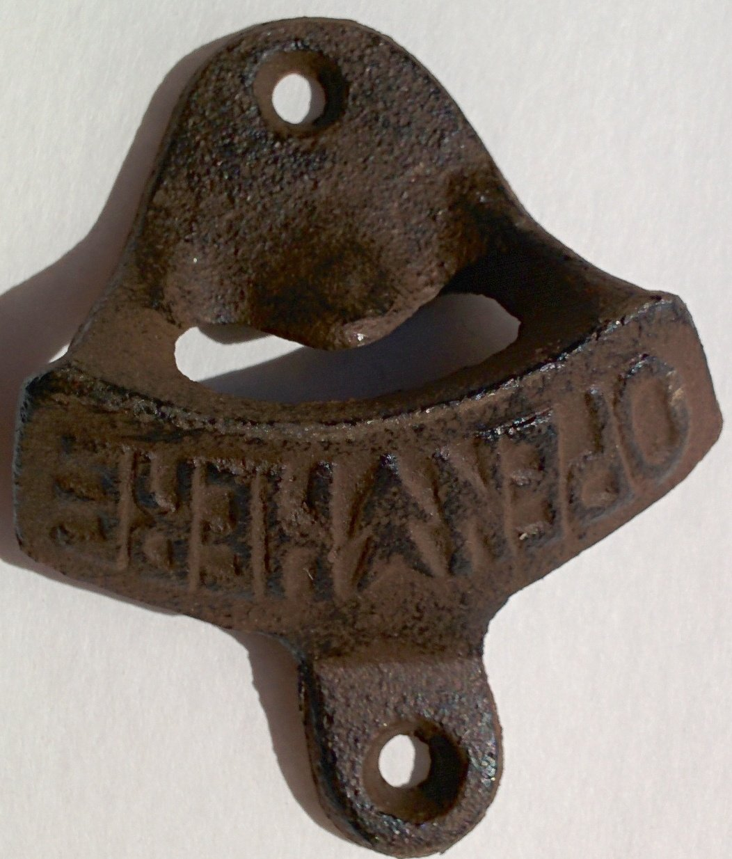 Lot of 50 Open Here Bottle Openers Rustic Cast Iron Wall Mount Vintage Style Beer Bottle Opener for the Man Cave Wholesale Bulk Lot by Always A Bargain 4U (Image #7)