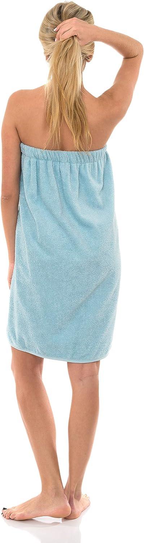 Terry Spa Towel Shower /& Bath TowelSelections Womens Wrap