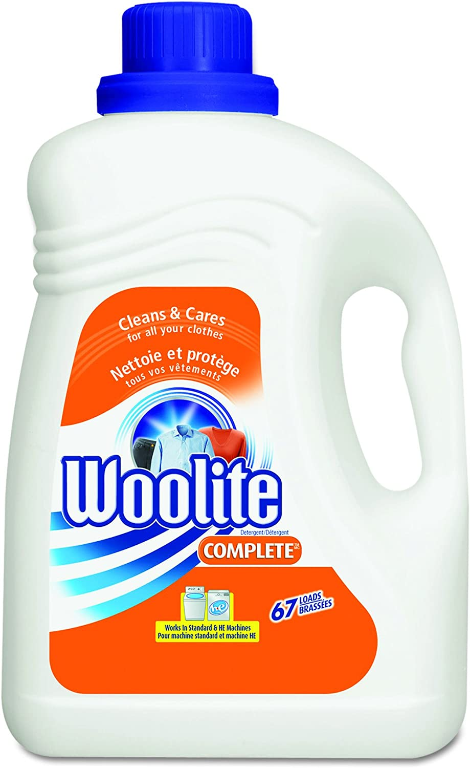 Woolite Fabric Wash for All Fabrics, 133 Ounce