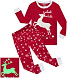 Dolphin&Fish Girls Pajamas Reindeer