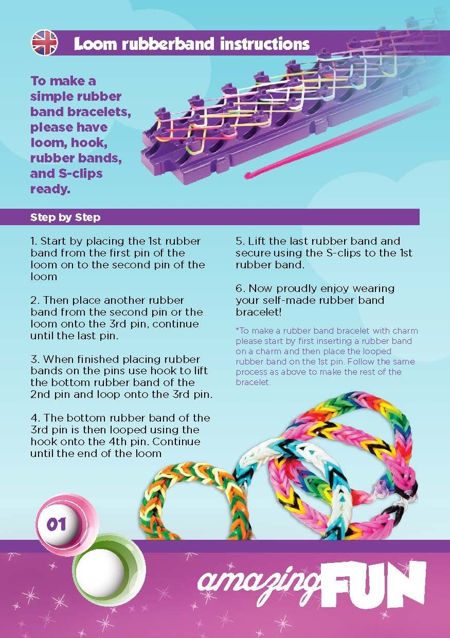 Complete Loom Bands Kit 15000 Queta Rainbow Loom Rubber Bands for Loom Weaving DIY Hand Knitted Bracelet with Beads and Tools Loom Bands