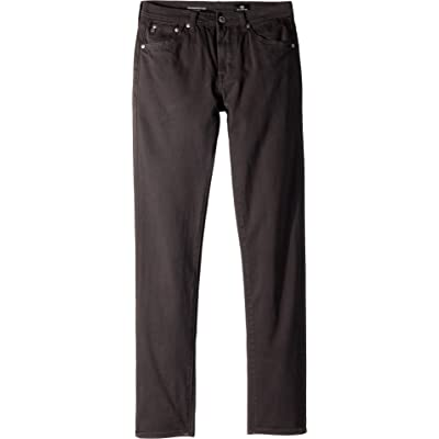 AG Adriano Goldschmied Kids Mens The Kingston Luxe Slim Skinny Sueded Twill in Raw Grey (Big Kids)