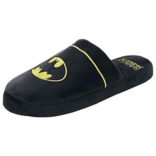 modèle unique service durable check-out Officiel DC Batman Logo Adulte Mule Slip On Chaussons -2 Tailles Disponibles