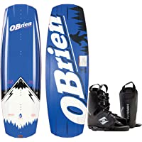 O'Brien Baker Wakeboard Mens 136cm + Hyperlite Bindings O/S 8-12