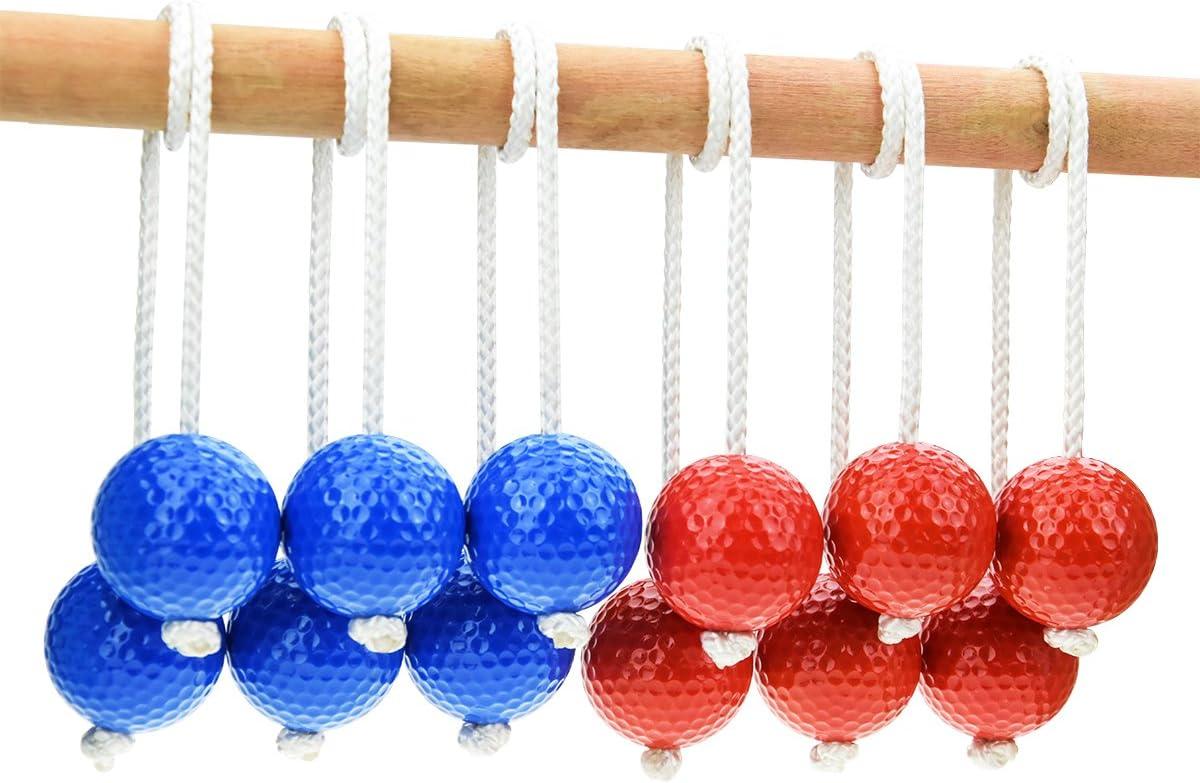 HONESTY Ladder Ball Replacement Balls Ladder Balls Made from Real Golf Balls 6 Pack