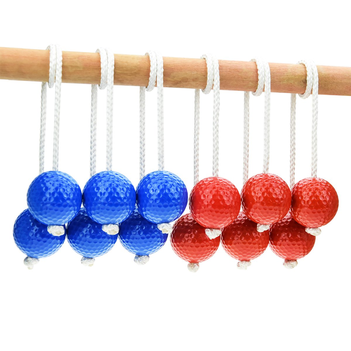 HONESTY Ladder Toss Ball Replacement Balls Ladder Golf Balls Made From Real Golf Balls 6 Pack