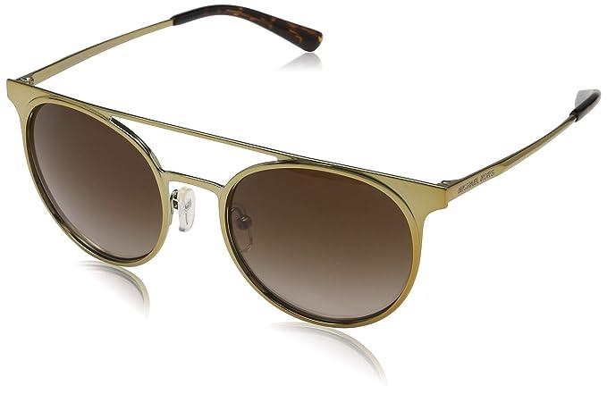 Michael Kors Grayton 116813 52 Gafas de Sol, Dorado (Shiny ...