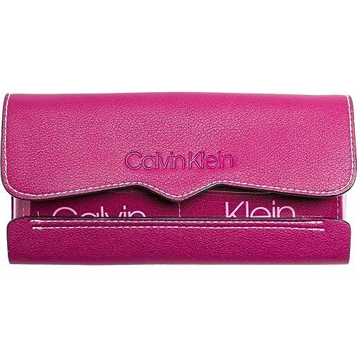 Calvin Klein Slide Trifold TR Magenta: Amazon.es: Zapatos y ...