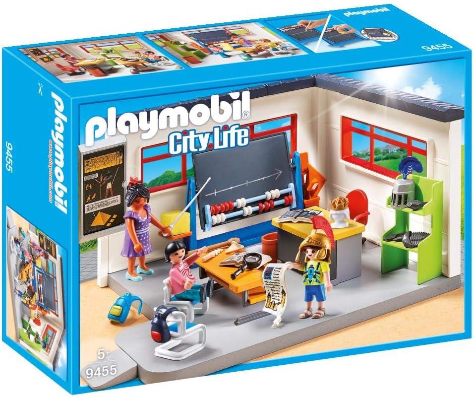 PLAYMOBIL City Life Clase de Historia, a Partir de 5 Años (9455)