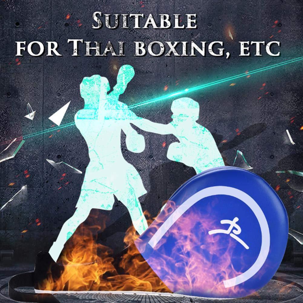 Dioche Coj/ín de Retroceso Doble Objetivo Taekwondo Karate Kickboxing Formaci/ón TKD Kicking Kick Pad de Pr/áctica