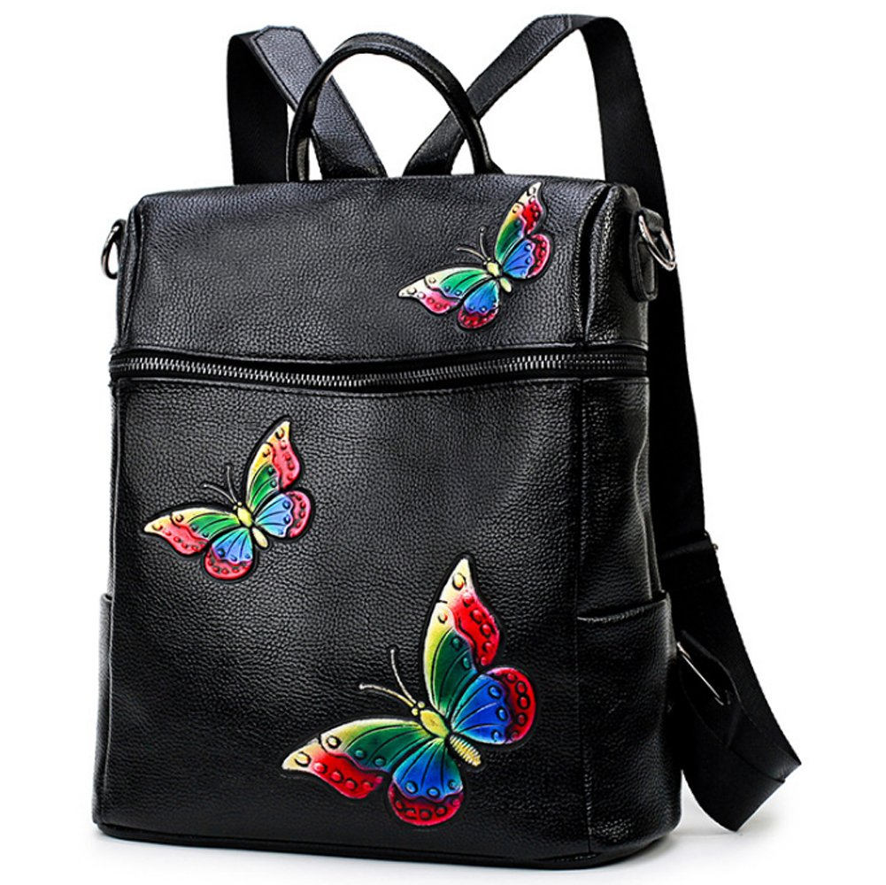Women Classic Newst Fashion Butterfly Shoulder Bag Satchel Backpack School Bag