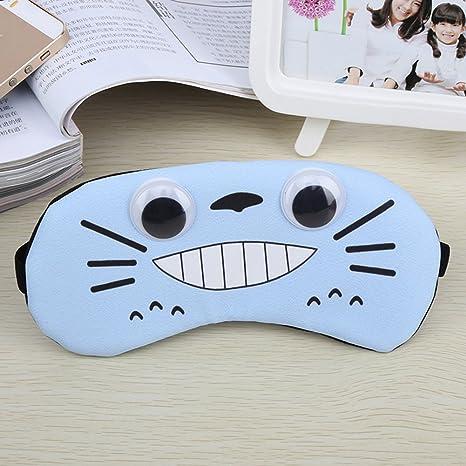 Antifaz/máscara ajustable CARTOON101% algodón lindos ojos máscara para dormir Viaje Grande Antifaz para