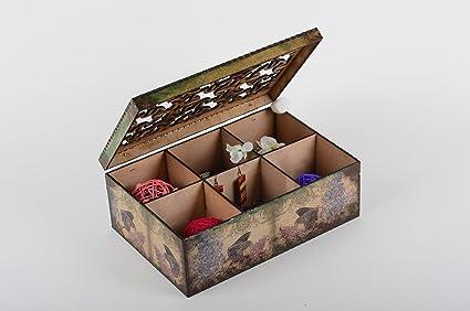 Amazon Com Beautiful Handmade Wooden Box Unusual Jewelry Box Wood