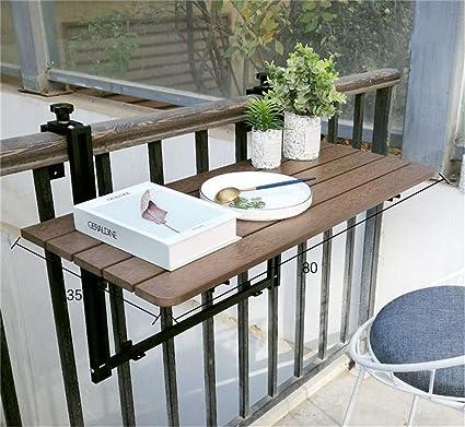 Barre de balcon suspendu Patio de jardin Table d\'appoint ...