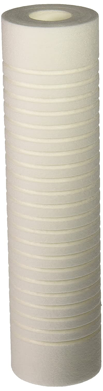 """Hydronix SGC-25-1005 Sediment Grooved Water Filter Cartridge, Replaces AP110, 5 Micron, 2.5"""" x 10"""""""