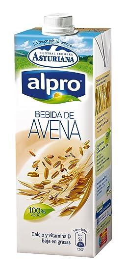 Central Lechera Asturiana - Alpro, Bebida De Avena, 1 L
