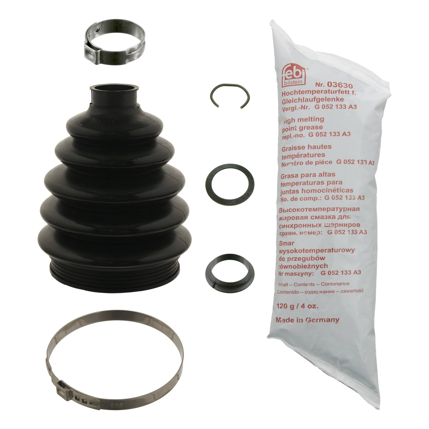 febi bilstein 29609 CV boot kit - Pack of 1