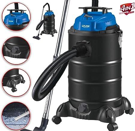 DMS® NTAS-30 - Aspiradora industrial 4 en 1, 1800 W, para cenizas ...