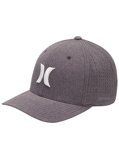 premium selection bac47 f27d2 Hurley Hats Phantom 4.0 Baseball Cap - Heather Grey  Amazon.co.uk  Clothing