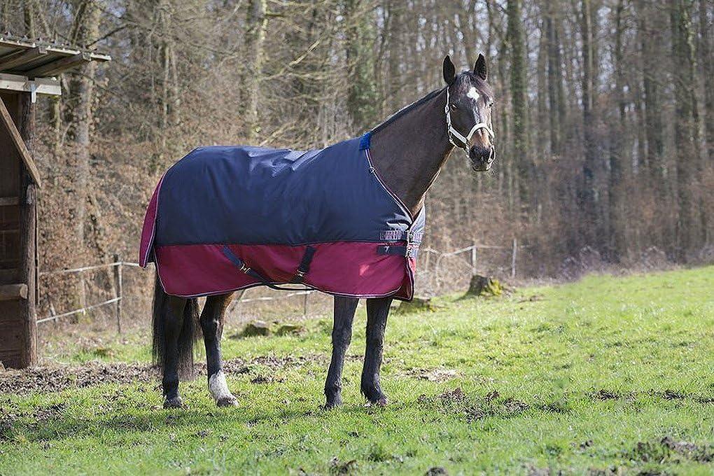 Kreuzgurte 155 cm Schweiflatz atmungsaktiv wasserdicht Reitsport Amesbichler Pferde Outdoordecke Weidedecke Equitheme TYREX 1200 Denier 150g F/üllung