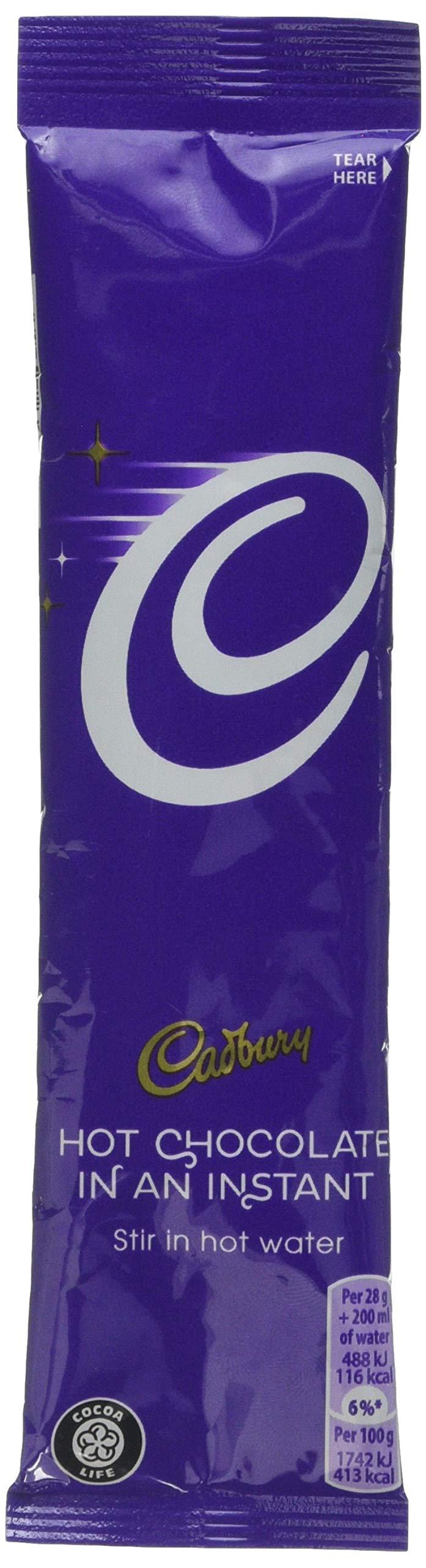 Cadbury Instant Hot Chocolate Sachets 28 g (Pack of 50)