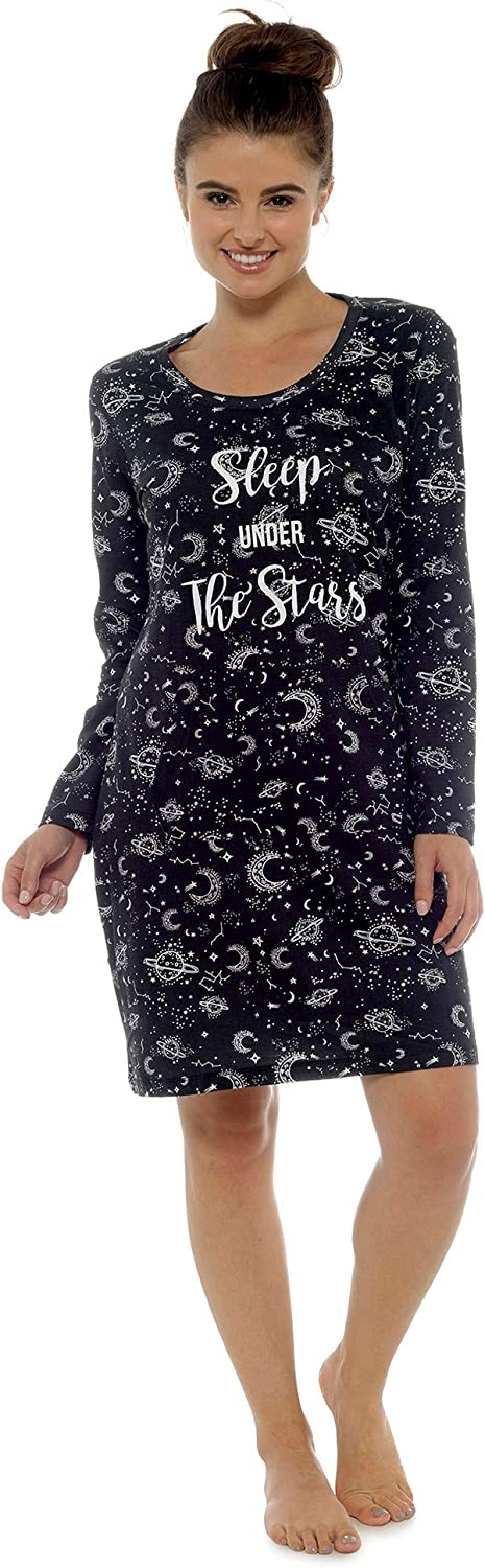 Follow That Dream Ladies Cotton Stargazer Nightie