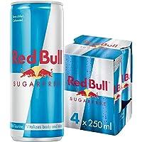 Red Bull Sugar Free, 250ml (Pack of 4)