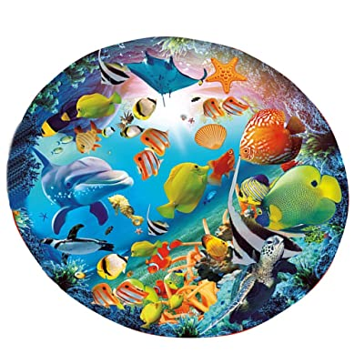 Meigeanfang Puzzles for Adults 1000 Piece - Fantasy Underwater World Large Jigsaw Puzzle - Children's Educational Fun Toys Gifts Modern Home Wall Decor: Toys & Games
