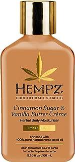 product image for Hempz Cinnamon Herbal Body Moisturizer, Sugar & Vanilla Butter Creme, 2.25 Ounce