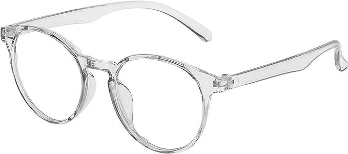 Amazon.com: 2020 Collection Glasses Anti Blue Ray Light Gaming Computer Reading TV Phones Anti-UV Radiation Glasses Men Women Blue Blocking Anti Eye Strain Headache & UV Glare (White): Computers & Accessories