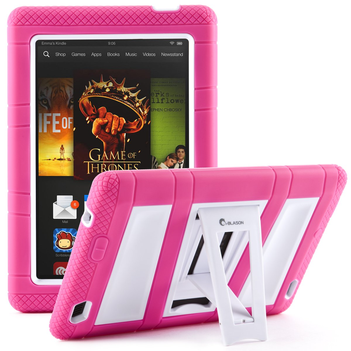Kindle fire protective case kindle fire protective case images - Amazon Com I Blason Kid Friendly Armorbox Full Body Protective Kickstand Case With Built In Screen Protector For Kindle Fire Hd 7 Inch Tablet 2013