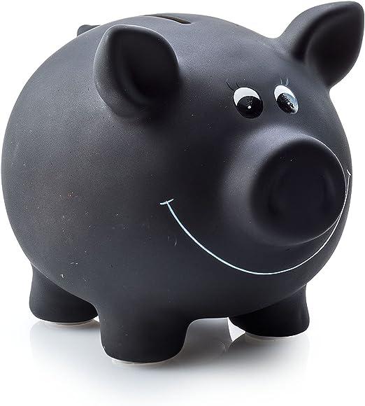 5x Lustige Spardose im D-Mark-DesignSparbüchseMetallspardose Sparschwein