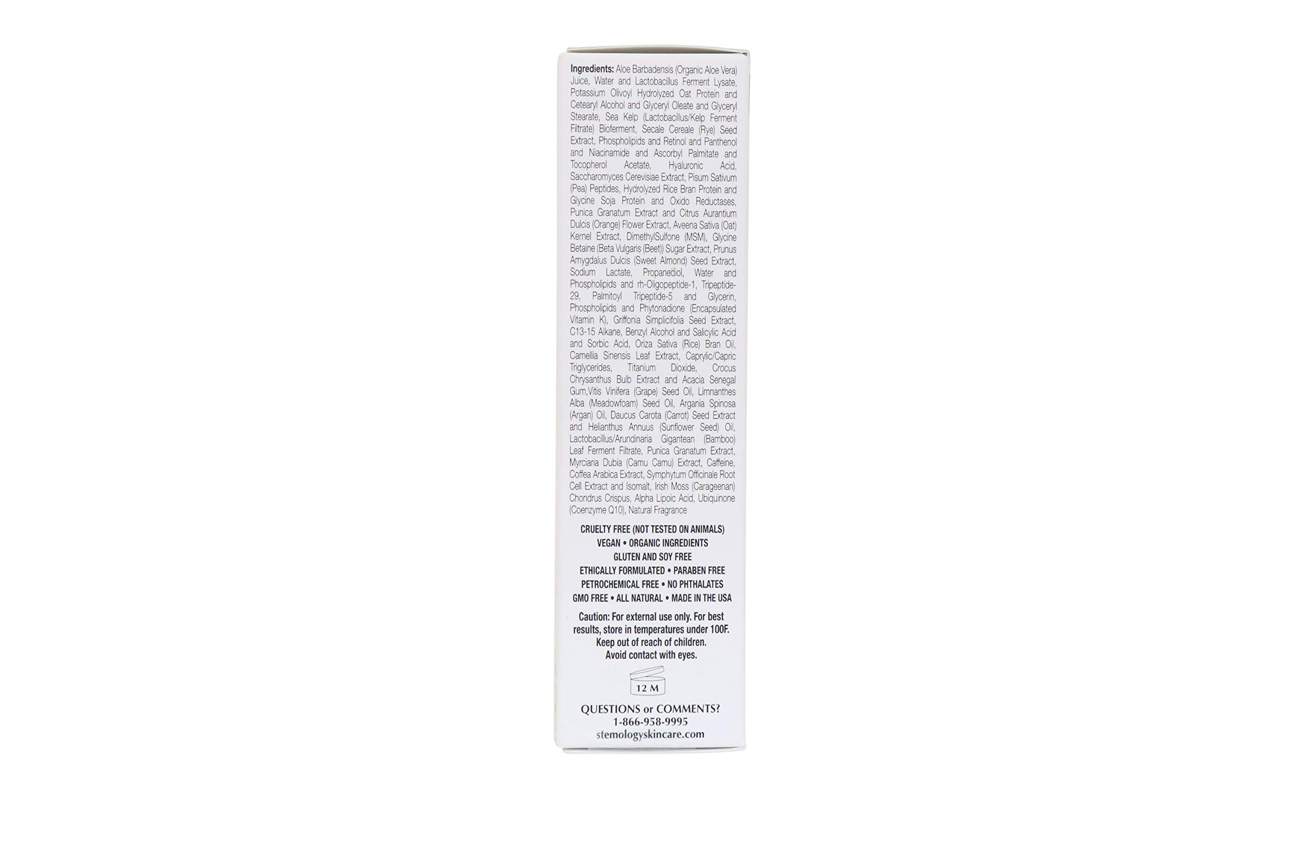 Stemology Skincare Cell Revive Eye Serum Complete With StemCore-3 (0.5 fl oz. / 15 ml)