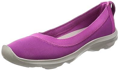 Womens Bsydaystrtchflt Ballet Flats, Black, 5 UK M Crocs