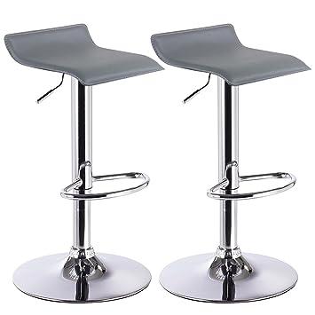 Barhocker Design barhocker design drehstuhl hocker barstuhl lounge bar stuhl 2x grau